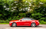 Mercedes-Benz E-Class e450 Cabriolet 2020 UK first drive review - on the road side