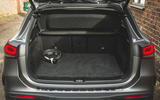 14 Mercedes Benz EQA 2021 UK first drive review boot