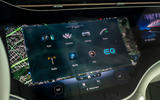 14 Mercedes Benz EQS 2021 UK LHD FD infotainment
