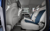 Mercedes-Benz G400d 2019 first drive review - rear seats