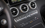 Mercedes-Benz GLC F-Cell 2018 first drive review - centre console