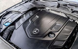 Mercedes-Benz S560 Coupe 2018 UK review engine