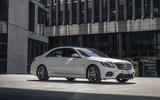 Mercedes-Benz S-Class S560e 2018 first drive review - static front