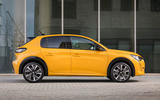 Peugeot 208 GT Line 2020 UK first drive review - static side