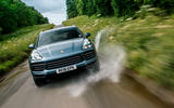 Porsche Cayenne 2018 UK first drive review hero action