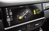 Porsche Cayenne E-Hybrid 2018 review infotainment
