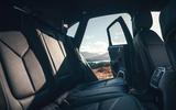 Porsche Macan 2019 first drive review - rear seats