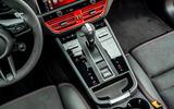 14 Porsche Macan GTS 2021 UK LHD first drive centre console