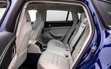 14 Porsche Panamera Turbo S E Hybrid ST 2021 UK FD rear seats