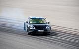 Porsche Taycan 2020 first drive review - drifting