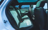 Range Rover Evoque 2019 first drive review - rear seats