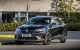 14 Renault Arkana 2021 UK FD on road front