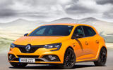 Renault Megane RS 2018 UK first drive static