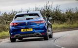 Renault Megane Sport 2020 UK first drive review - cornering rear