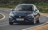 Seat Leon eHybrid FR 2020 UK first drive review - on the road front