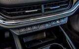 14 Skoda Enyaq 2021 LHD UK first drive climate controls