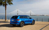 Skoda Kodiaq vRS 2018 first drive review - static rear