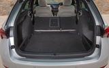 Skoda Octavia estate 2020 UK first drive review - boot
