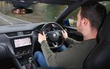 Skoda Octavia vRS diesel longterm review Dan Prosser driving