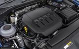 Skoda Superb Estate Sportline 2020 UK first drive review - engine
