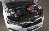 Skoda Superb iV 2020 first drive review - engine