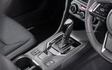 Subaru Impreza 2018 UK review gearstick
