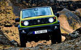 Suzuki Jimny 2018 first drive review off-road nose