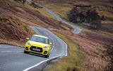Suzuki Swift Sport 2018 review road front