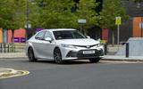 14 Toyota Camry 2021 FD Frontcornering