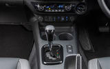 Toyota Hilux Invincible X 2020 UK first drive review - centre console