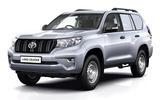 Toyota Land Cruiser - static front