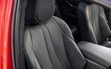 14 Toyota Mirai 2021 UK FD front seats