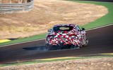 Toyota Supra 2019 prototype first drive review drift rear