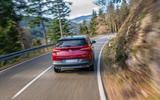 Vauxhall Grandland X Hybrid4 2020 first drive review - on the road rear