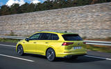 Volkswagen Golf Estate 2020 first drive review - on the road rear