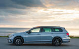 Volkswagen passat Estate R Line 2019 UK review - static side