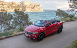Volkswagen T-Roc Cabriolet 2020 first drive review - on the road side