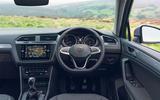 14 Volkswagen Tiguan 2021 UK FD dashboard