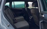 Volkswagen Tiguan Life 2020 UK first drive review - rear seats