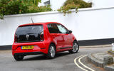 Volksawgen Up 1.0 2020 UK first drive review - on the road rear