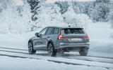 Volvo V60 Cross Country 2019 first drive review - on the road rear