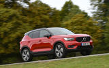 Volvo XC40 2018 long-term review - driving park front