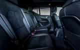 Volvo XC40 Recharge T5 2020 first drive review - rear seats