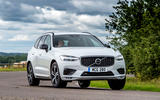 Volvo XC60 B5 2020 UK first drive review - cornering front