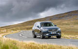 Volvo XC90 B5 petrol 2020 UK first drive review - on the road front