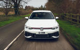 14 VW Golf GTI Clubsport 2021 UK first drive review on road nose