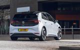 14 VW ID 3 Tour Pro S 2021 UK FD cornering rear