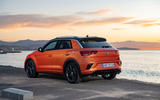 Volkswagen T-Roc R 2019 first drive review - static rear