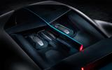 Bugatti Divo engine cover