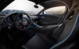 Bugatti Chiron Pur Sport interior